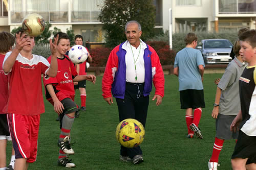 Firooz Zadeh, Soccer Coach and motivational speaker
